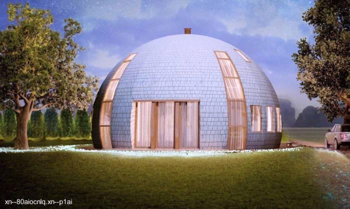 casa-domo-de-madera-rusia
